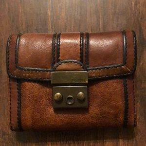 Fossil Genuine Leather Tri-Fold Wallet